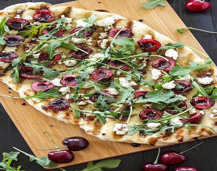 بيتزا صحية تحتوي على كافة العناصر الغذائية