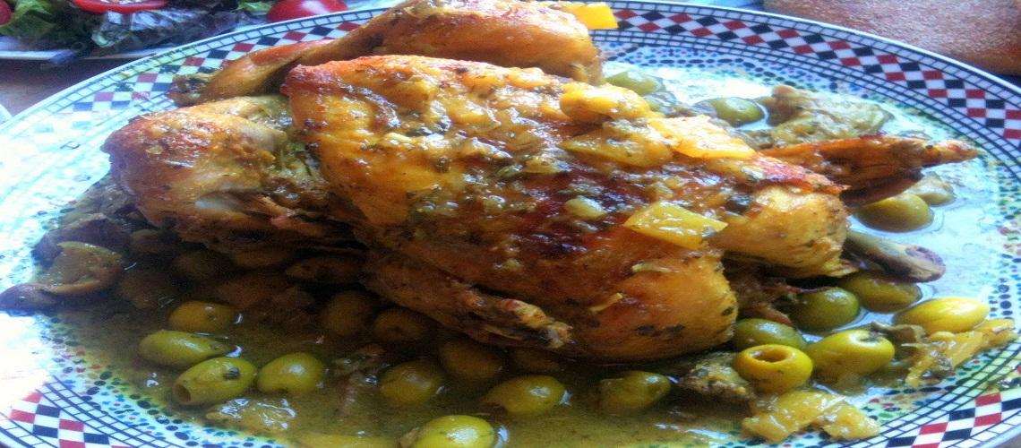 مغربية الدجاج