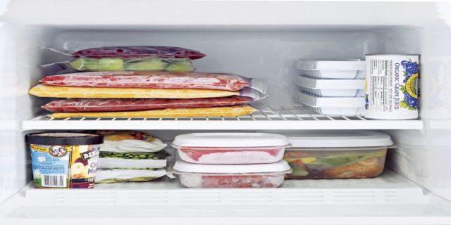 مدة حفظ بقايا الطعام في الثلاجة