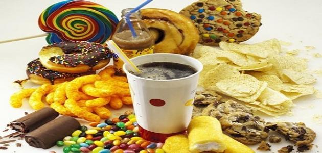 أنواع الغذاء الغير صحي
