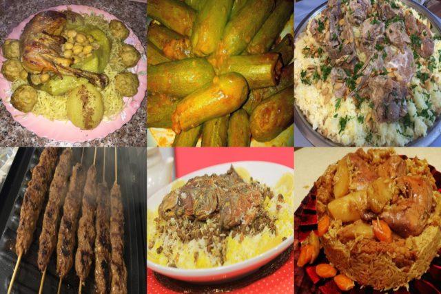 أشهر أطباق الدول العربية