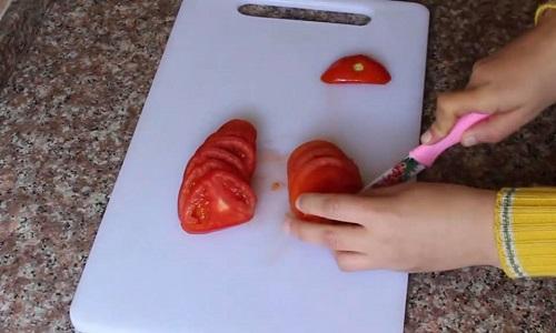 طماطم المقلوبة